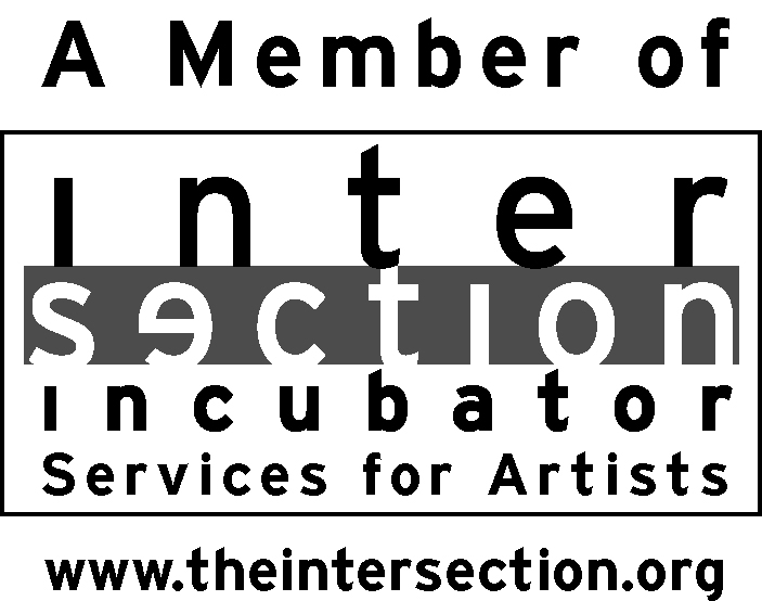 Logo: A member of Intersection Incubator Services for the Arts.  www.theintersection.org