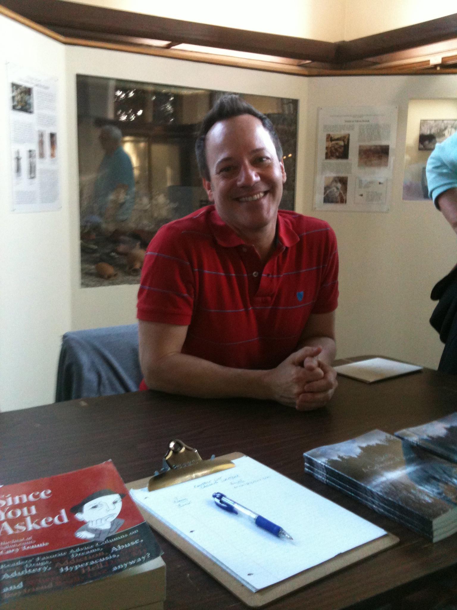 Chris DeLorenzo of Laguna Writers