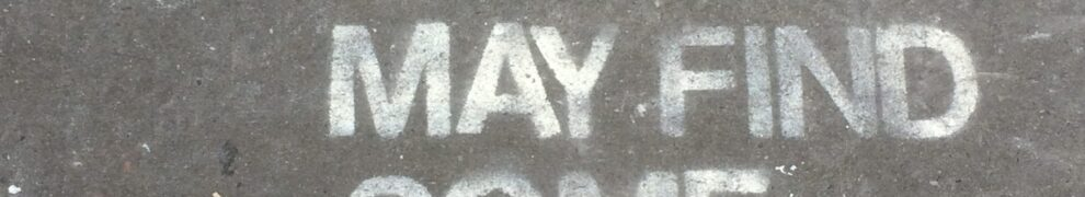 """Stencil graffiti reading, """"Slide the light off you may find some peace"""""""